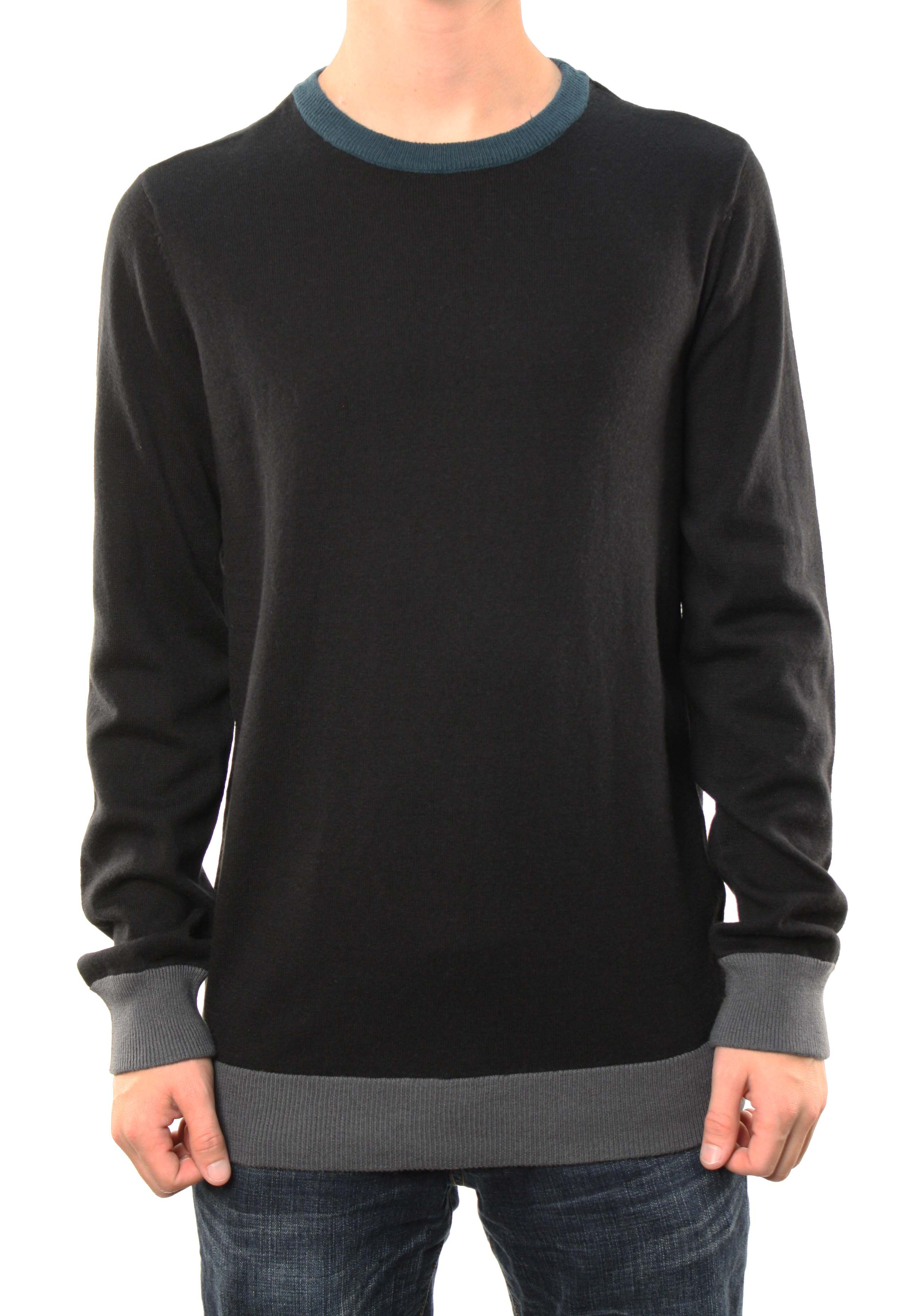 Quiksilver Men's Premium Knox Pullover Sweater Shirt Black 107706-BLK at Sears.com