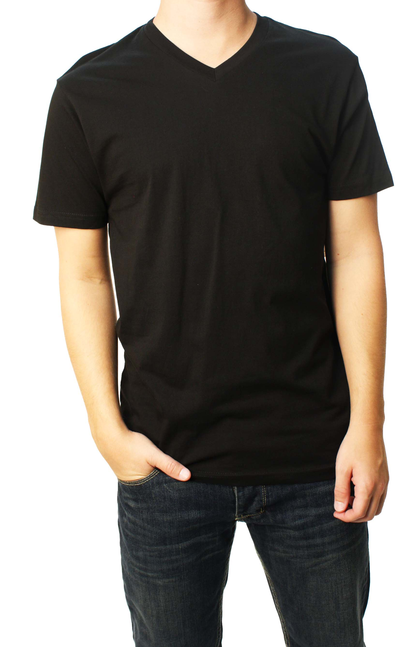 "Quiksilver Men's ""BLNK SLIM VNK MTI"" Black T-Shirt R12T1PM7-BLK at Sears.com"