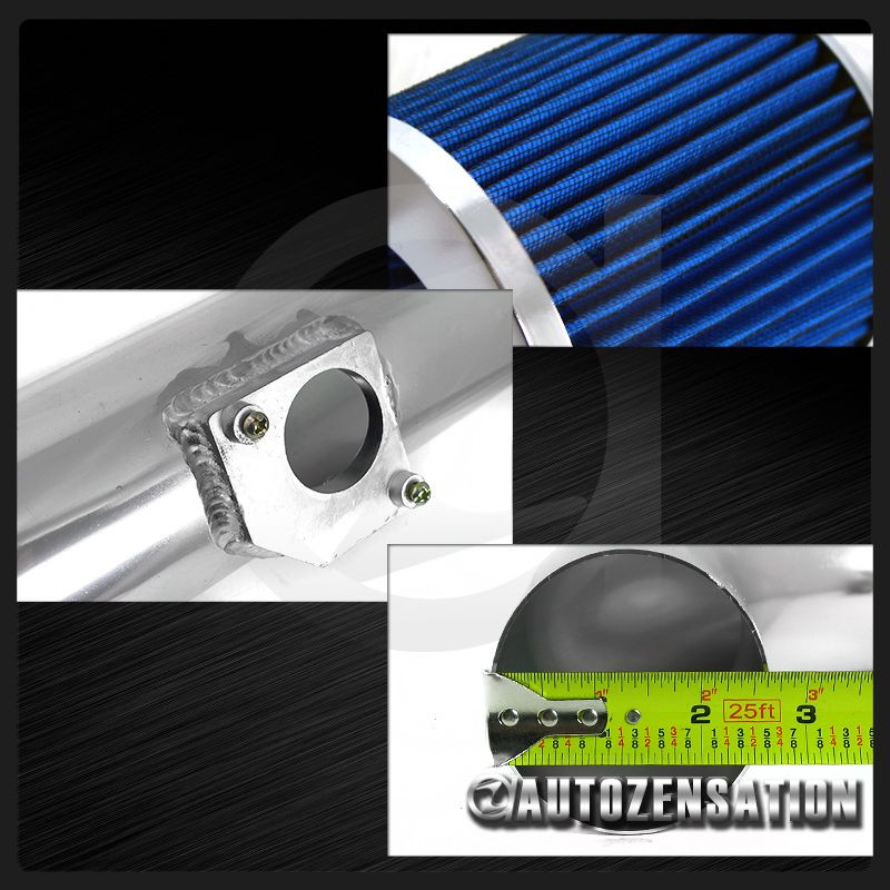 05 06 Scion Tc 2 4l 4 Cylinder Cold Air Intake System Blue