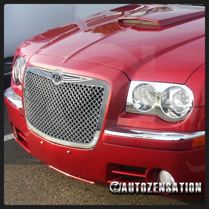 04-10 Chrysler 300/ 300C Bentley Style Chrome Grill