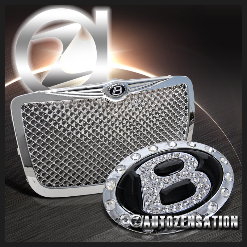 04-10 Chrysler 300/ 300C Bentley Style Chrome Grill
