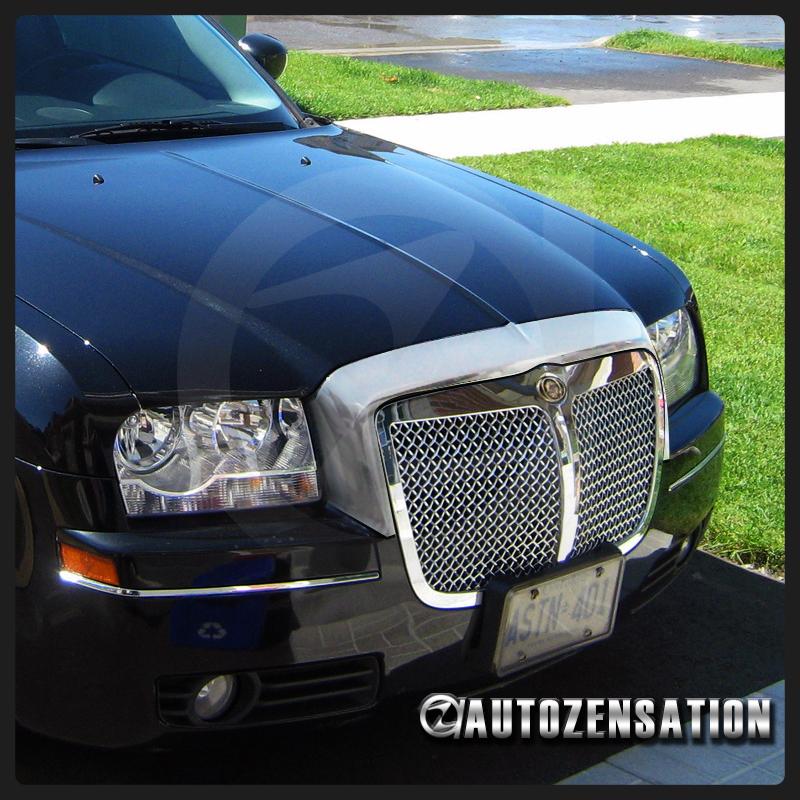 2005 2010 Chrysler 300 Front Hood Grille Trim Cover