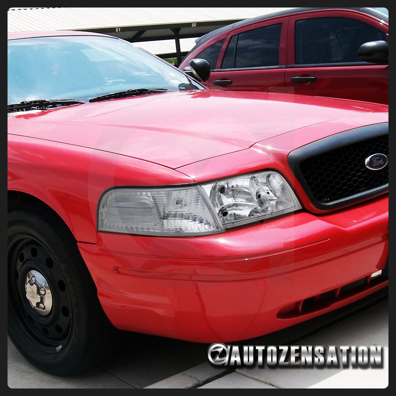 1998-2011 Ford Crown Victoria Euro Clear Corner Lights