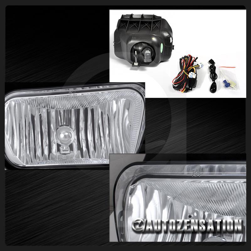 03 06 Chevy Silverado Crystal Headlights W Bumper Lamps