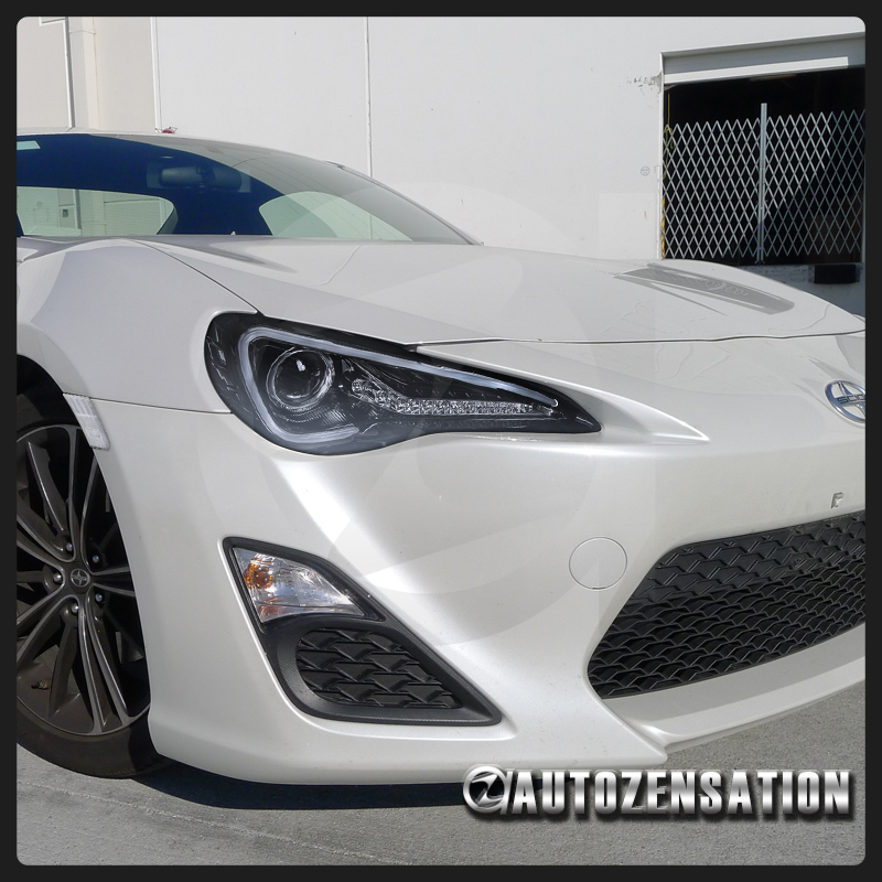 12 17 Scion Fr S Toyota 86 Glossy Black Led Projector