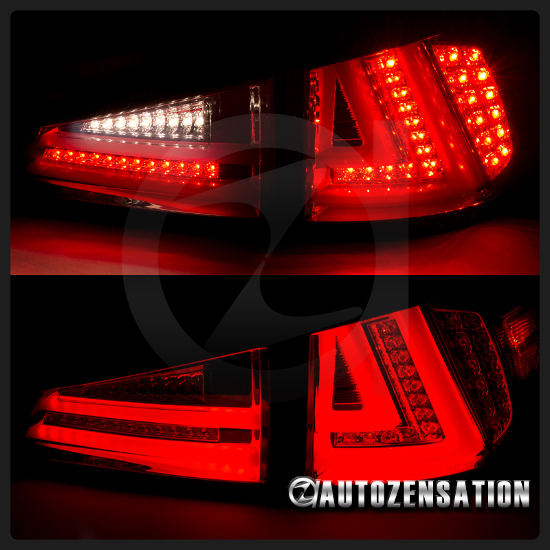 06 08 Is250 Glossy Black Led Drl Signal Projector