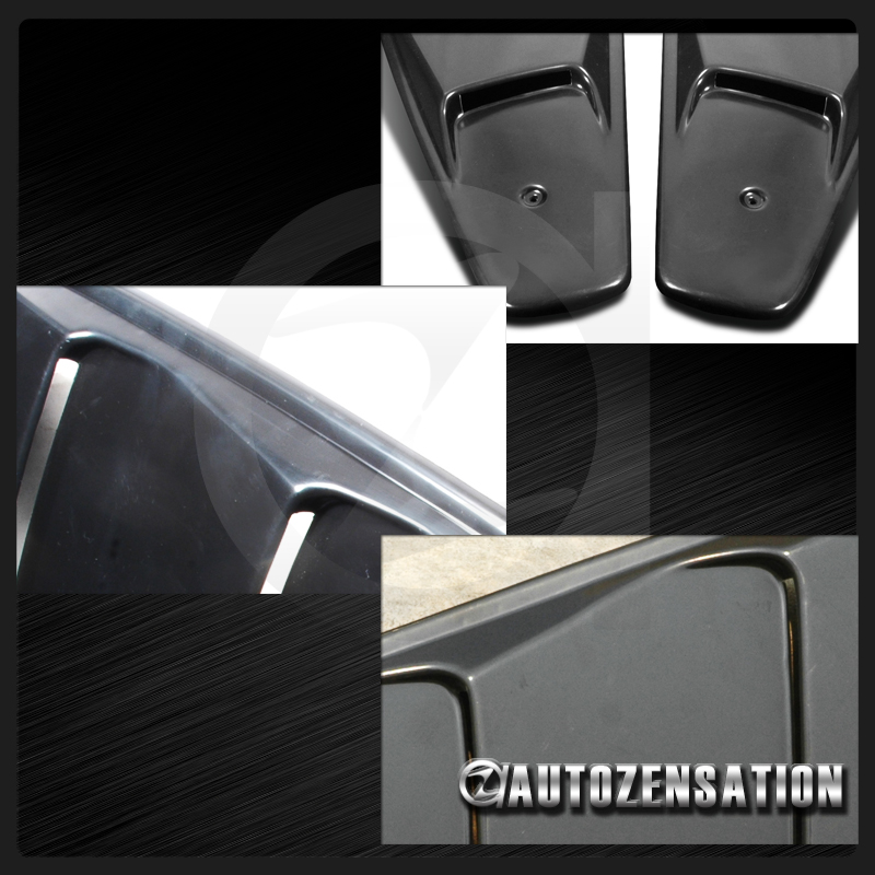 05 14 ford mustang retro quarter 1 4 rear window louver for 05 mustang rear window louvers