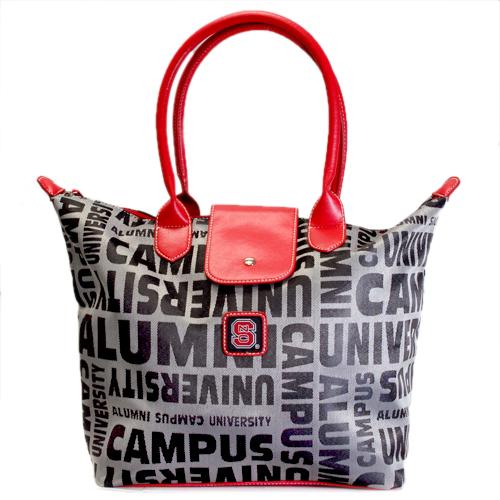 Bethel International North Carolina State University Wolfpack Alumni Handbag Jacquard Fabric w/ Logo at Sears.com