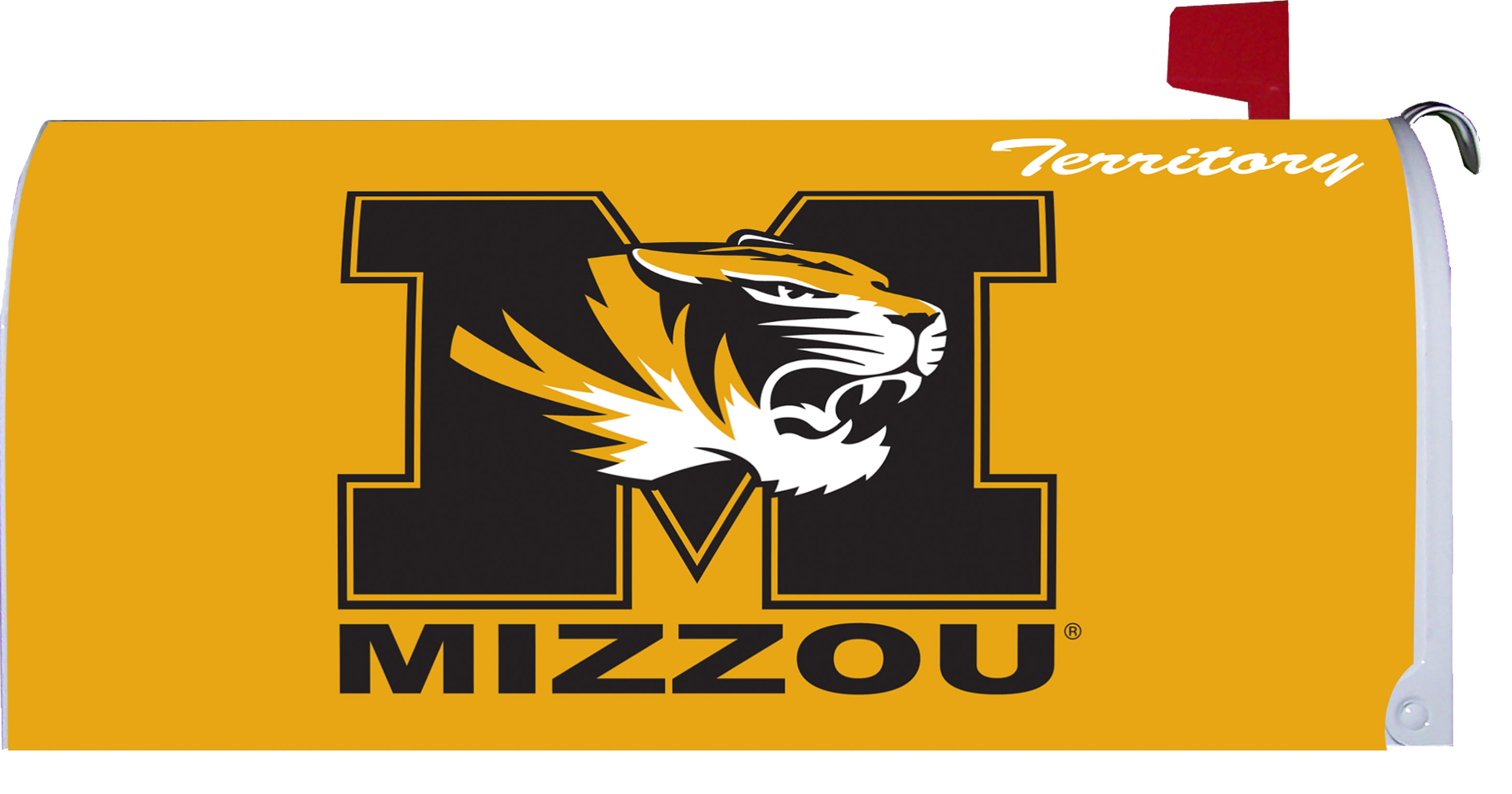Custom Decor Mailbox Cover Mizzou Territory By Custom Decor College Game Day 18x21 at Sears.com
