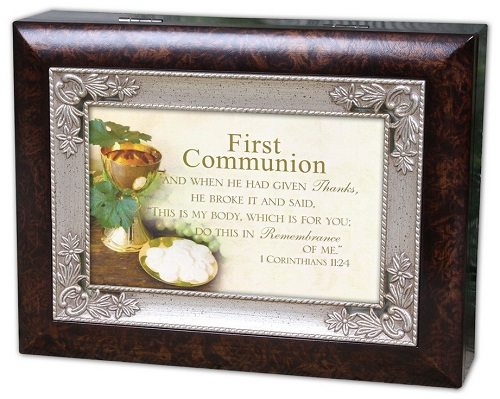 Cottage Garden Music Jewelry Box Baptized in Christ Plays How Great Thou Art IMWGIMB79sHG at Sears.com