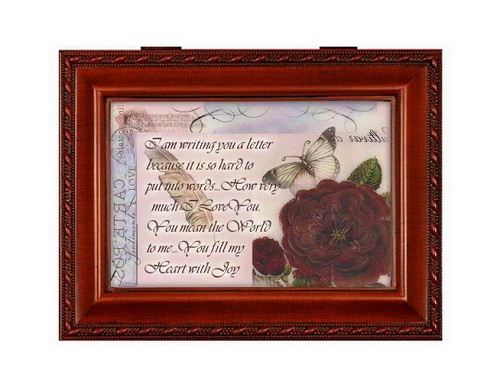 Cottage Garden Valentine's Day Musical Jewelry Box From Cottage Garden Plays Irish Lullaby at Sears.com