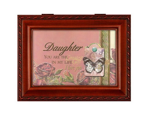 Cottage Garden Daughter Wood Grain Music  Jewelry Box Plays Let Me Call You Sweetheart at Sears.com
