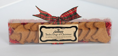 Creature Comforts Twelve Dogs of Christmas hand-cut dog-shaped Doggie Treats at Sears.com