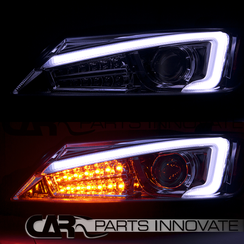 2011 2013 scion tc chrome projector headlights led signal. Black Bedroom Furniture Sets. Home Design Ideas