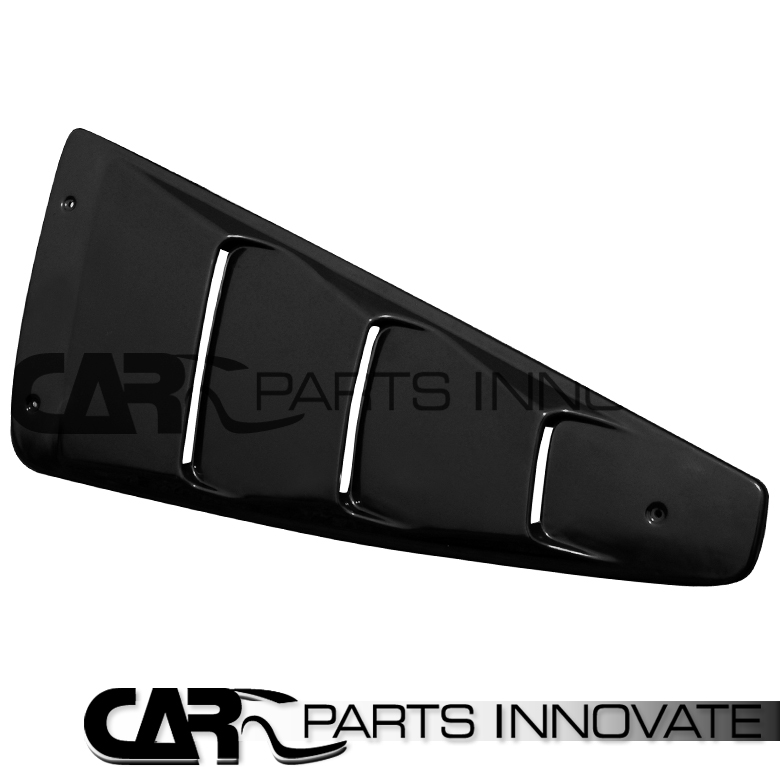 05 14 mustang coupe black 1 4 side vent window louvers for 05 mustang rear window louvers