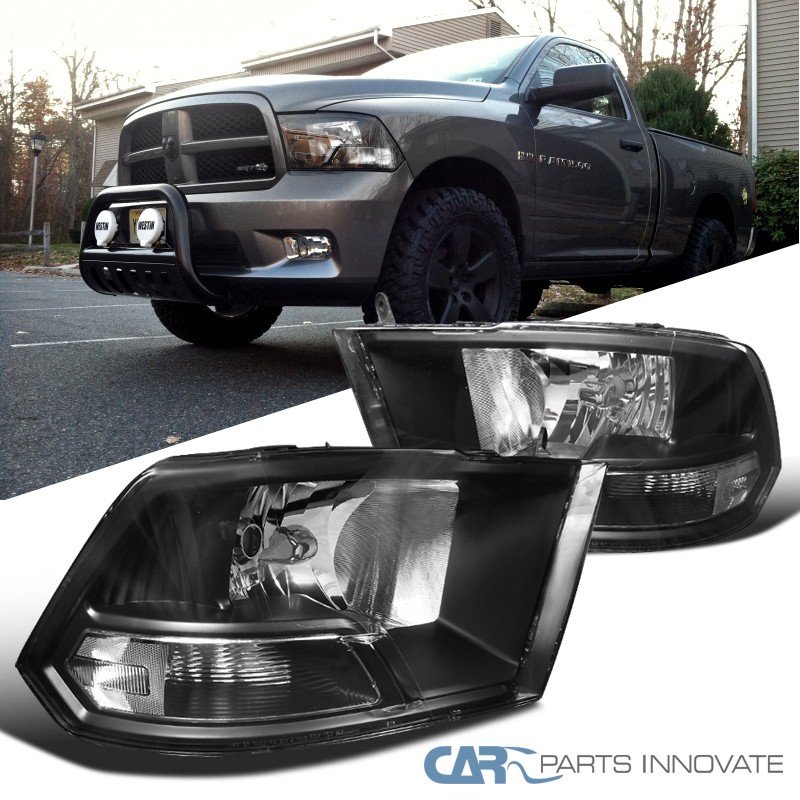 ram dodge 1500 headlights replacement 2500 2009 lamps pair front lamp crystal different noted settings monitor due please