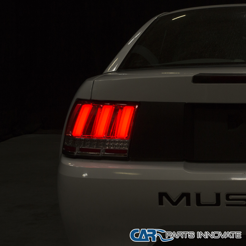 1999 2004 ford mustang red lens led sequential turn signal. Black Bedroom Furniture Sets. Home Design Ideas