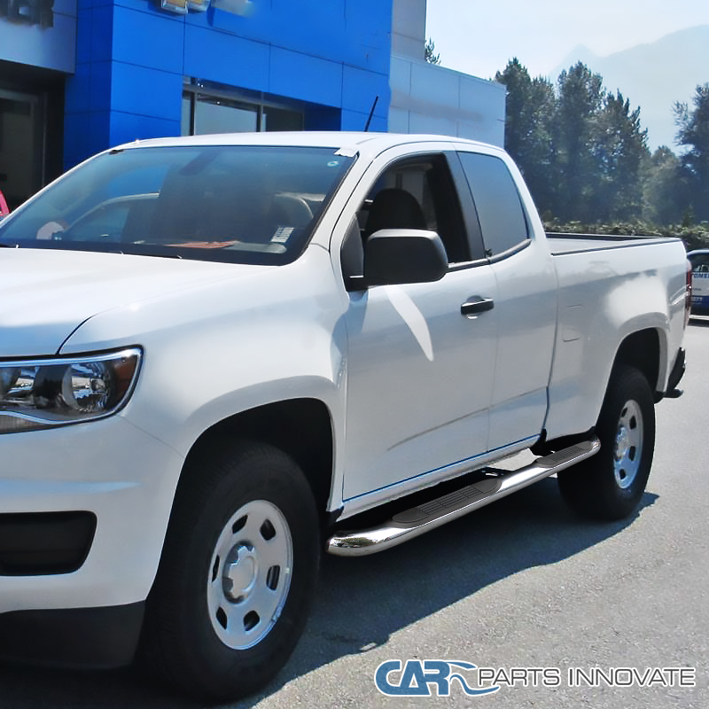 """2015 Chevrolet Colorado Extended Cab Transmission: 15-17 Colorado Canyon Extended Cab 3"""" Polished Stainless"""