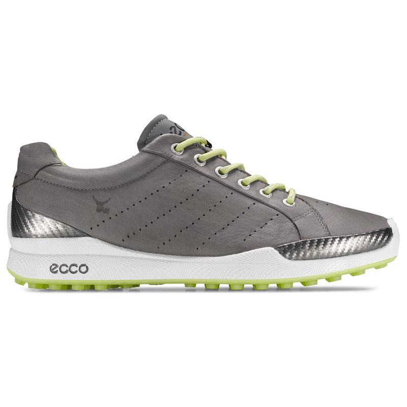 Ecco Mens Biom Hybrid Golf Shoes 131504 57870 Grey Lime Yak Leather