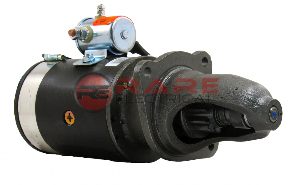 International 340 Utility Parts : Starter motor international farmall tractor crawler t