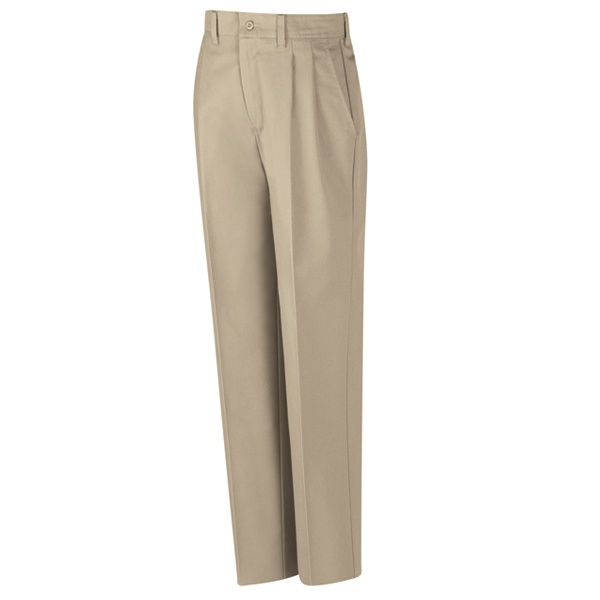 Red Kap Clothing Red Kap Men's Pleated Industrial Work Pants Khaki 8oz TouchTex II Twill at Sears.com