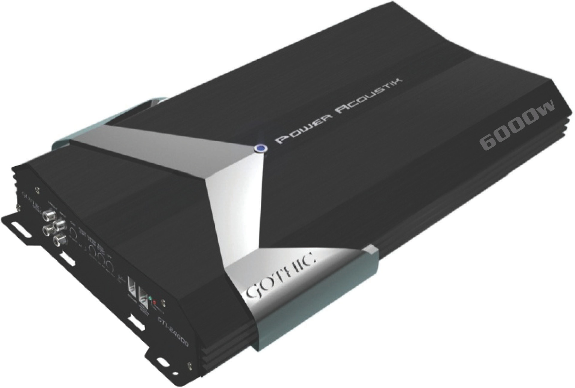 Power acoustik class d 6000 watt amp