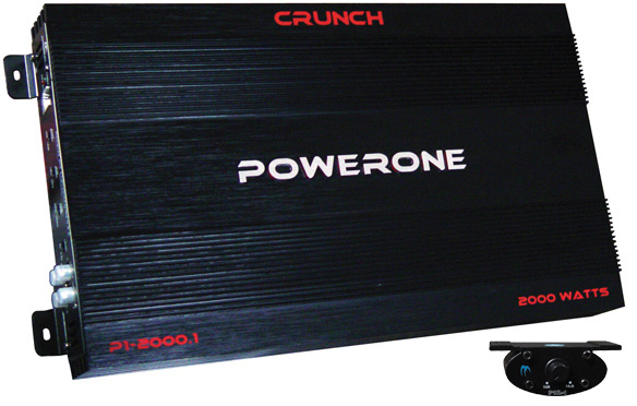 Crunch powerone 1000 watt amp