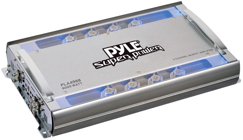 Lanzar VIBE 452N Vibe 60Watt 4-Channel MOSFET Amplifier