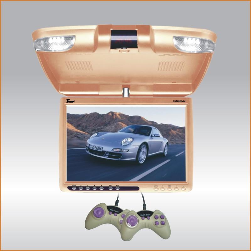 T137DVFDTAN 13 TAN WIDESCREEN FLIP DOWN LCD CAR MONITOR W/DVD PLAYER