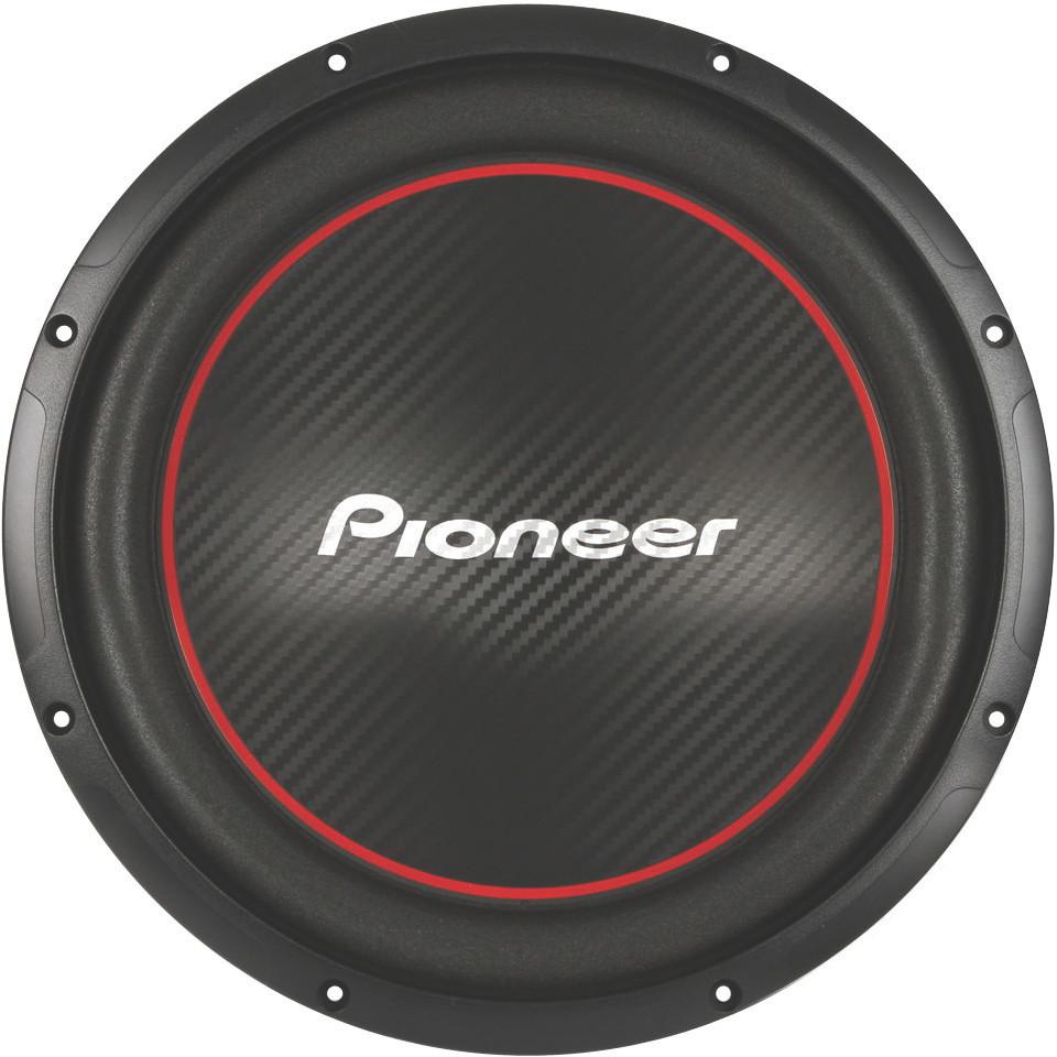 new pioneer ts w304r chion series 12 034 single 4 ohm 1300w subwoofer sub ebay