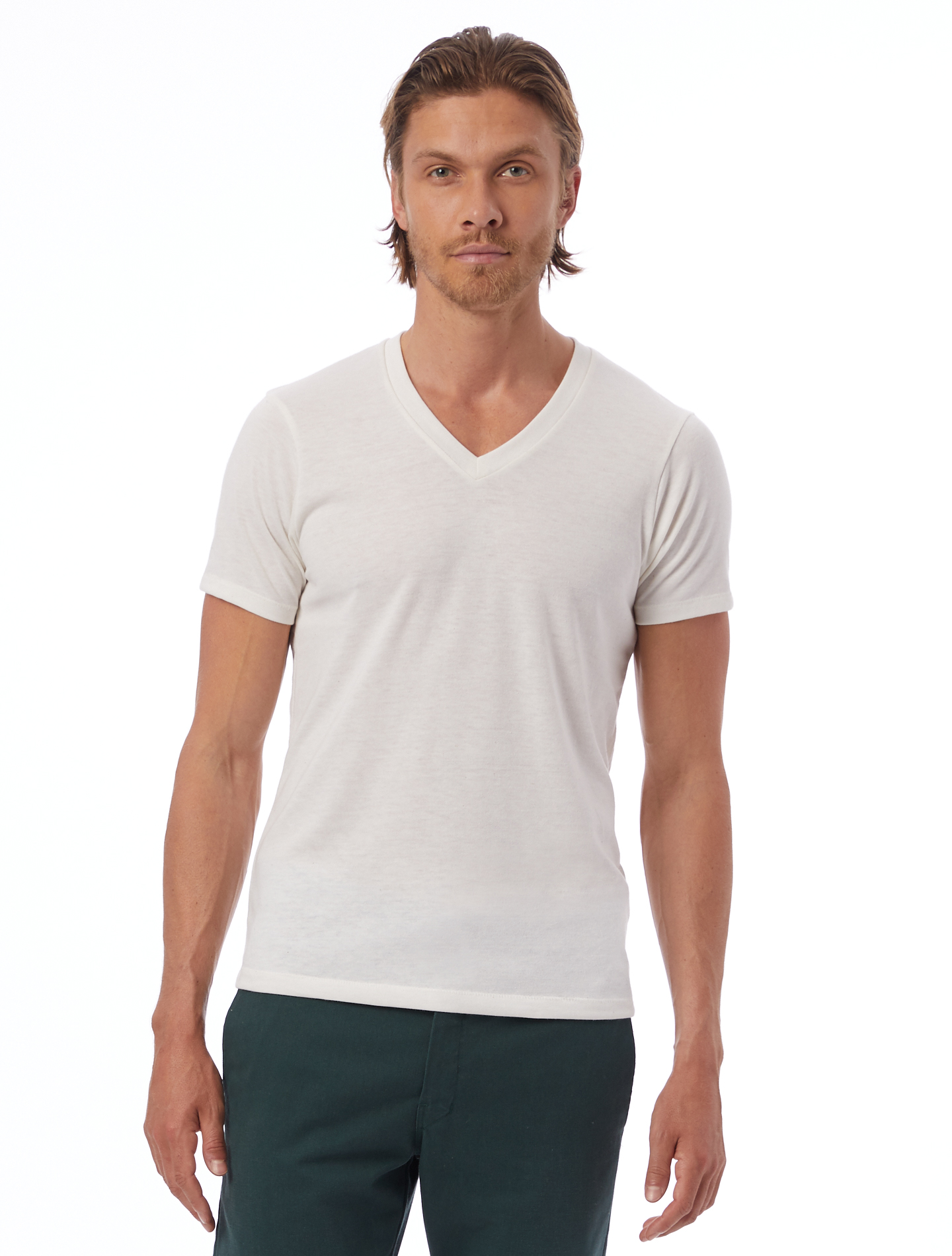 alternative apparel boss v neck eco jersey t shirt ebay