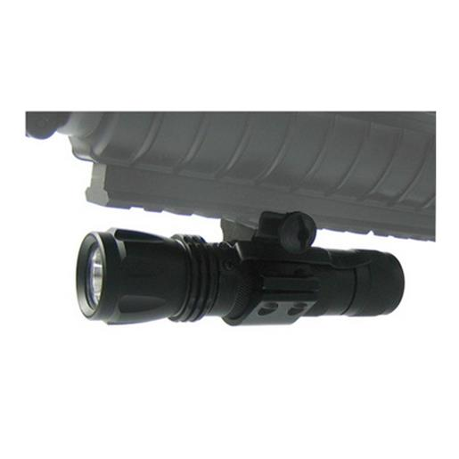 NcSTAR Tactical Flashlight with Weapon Mounting Ring 65 Lumens LED