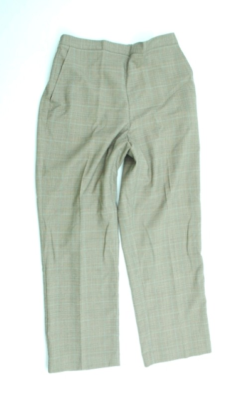 Alfred Dunner NEW ALFRED DUNNER WOMENS PROPORTIONED SHORT   STRETCH BROWN PANTS 10 at Sears.com