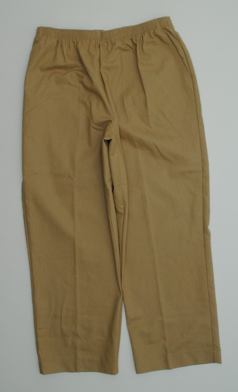 Alfred Dunner NEW ALFRED DUNNER WOMENS  BROWN PANTS 18 at Sears.com