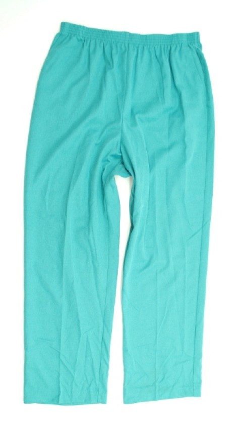 Alfred Dunner NEW ALFRED DUNNER WOMENS PROPORTIONED MEDIUM BLUE PANTS 16 at Sears.com