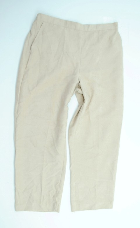 Alfred Dunner NEW ALFRED DUNNER WOMENS  CREAM PANTS 14 at Sears.com