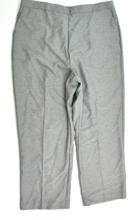 Alfred Dunner NEW ALFRED DUNNER WOMENS PROPORTIONED MEDIUM GRAY PANTS 18P at Sears.com