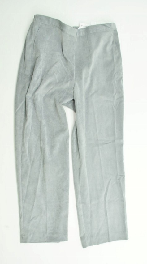 Alfred Dunner NEW ALFRED DUNNER WOMENS PROPORTIONED MEDIUM   STRETCH GRAY PANTS 18 at Sears.com