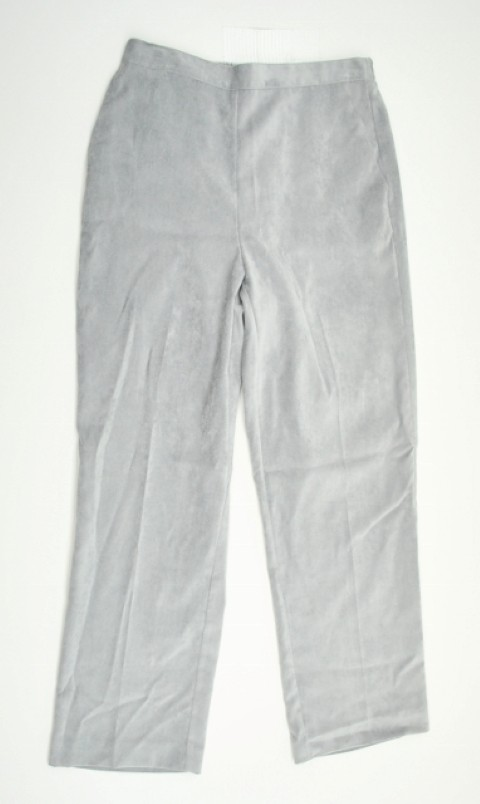 Alfred Dunner NEW ALFRED DUNNER WOMENS PROPORTIONED MEDIUM  STRETCH GRAY PANTS 8P at Sears.com