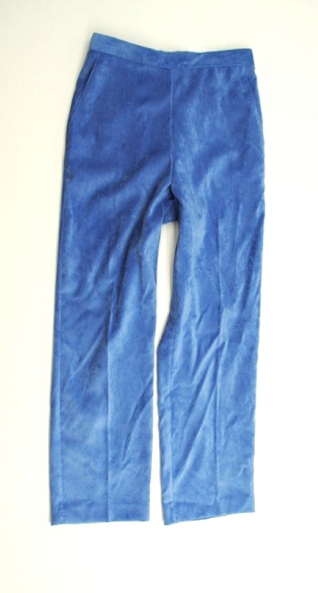 Alfred Dunner NEW ALFRED DUNNER WOMENS PROPORTIONED MEDIUM   STRETCH BLUE PANTS 6P at Sears.com