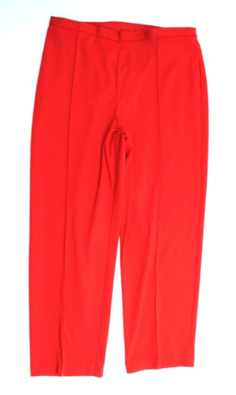 Alfred Dunner NEW ALFRED DUNNER WOMENS PROPORTIONED SHORT   STRETCH RED PANTS 14 at Sears.com