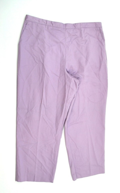 Alfred Dunner NEW ALFRED DUNNER WOMENS PROPORTIONED  SHORT PURPLE PANTS 18 at Sears.com