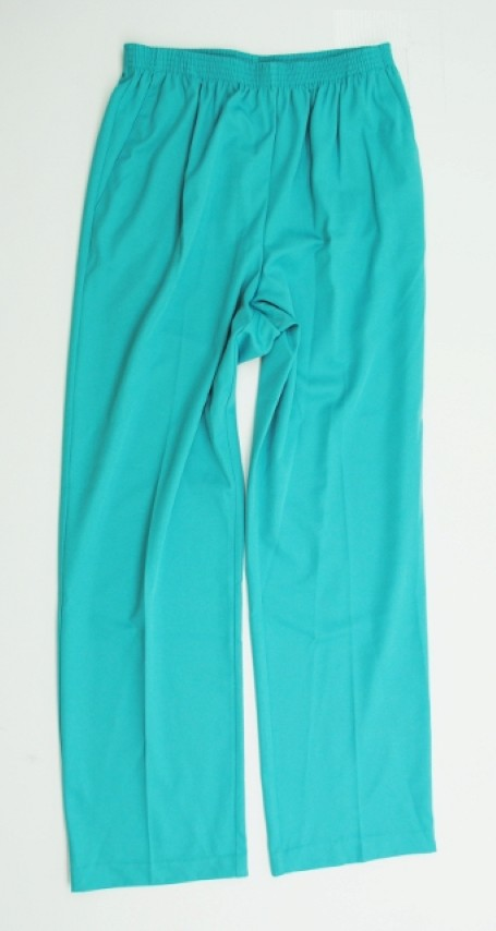 Alfred Dunner NEW ALFRED DUNNER WOMENS PROPORTIONED MEDIUM BLUE PANTS 8 at Sears.com