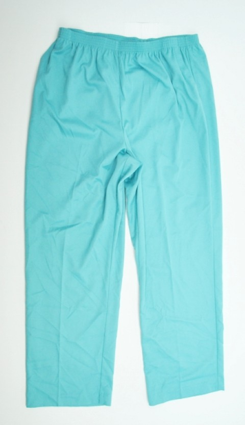 Alfred Dunner NEW ALFRED DUNNER WOMENS PROPORTIONED MEDIUM BLUE PANTS 18 at Sears.com