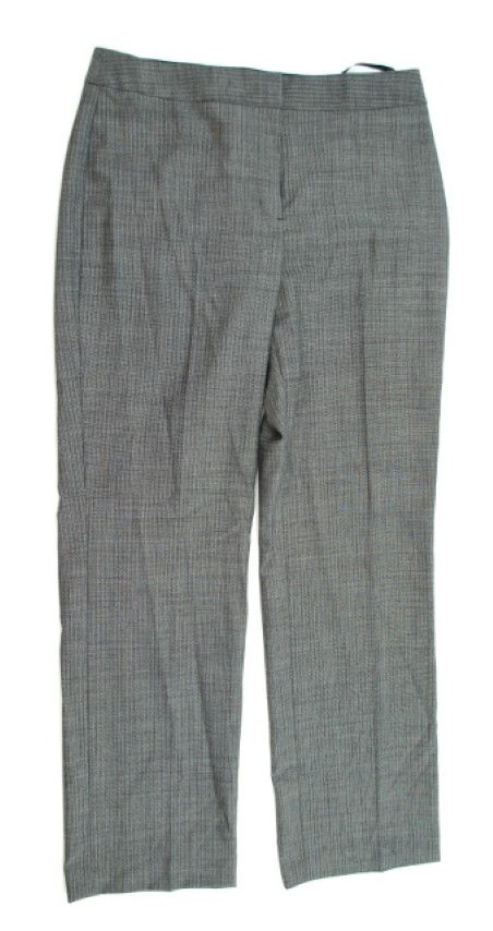 Jones New York Collection NEW JONES NEW YORK COLLECTION WOMEN'S GRAY PANTS 8