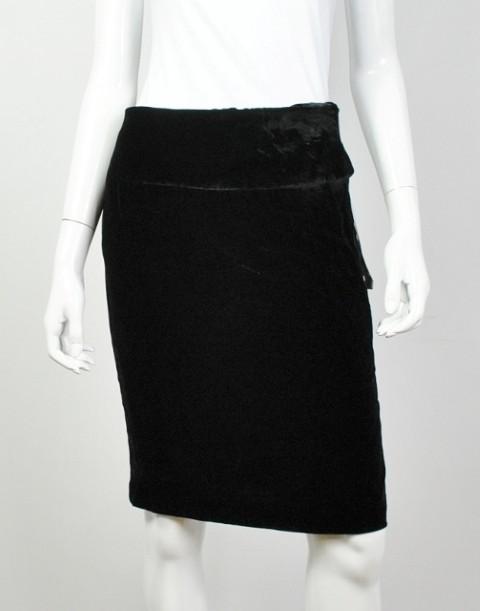 INC NEW INC WOMEN'S STRAIGHT BLACK SKIRT 6 at Sears.com