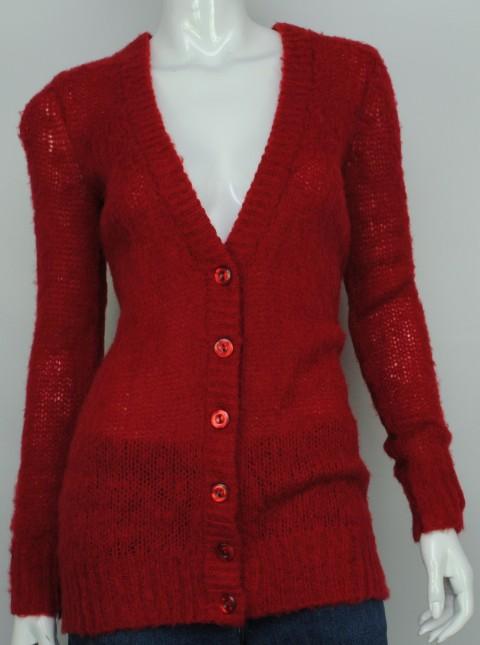 INC NEW INC WOMEN'S CARDIGAN RED SWEATER M at Sears.com