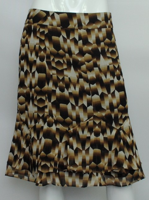 Sunny Leigh NEW SUNNY LEIGH WOMEN'S FULL SKIRT BROWN SKIRT 14P at Sears.com