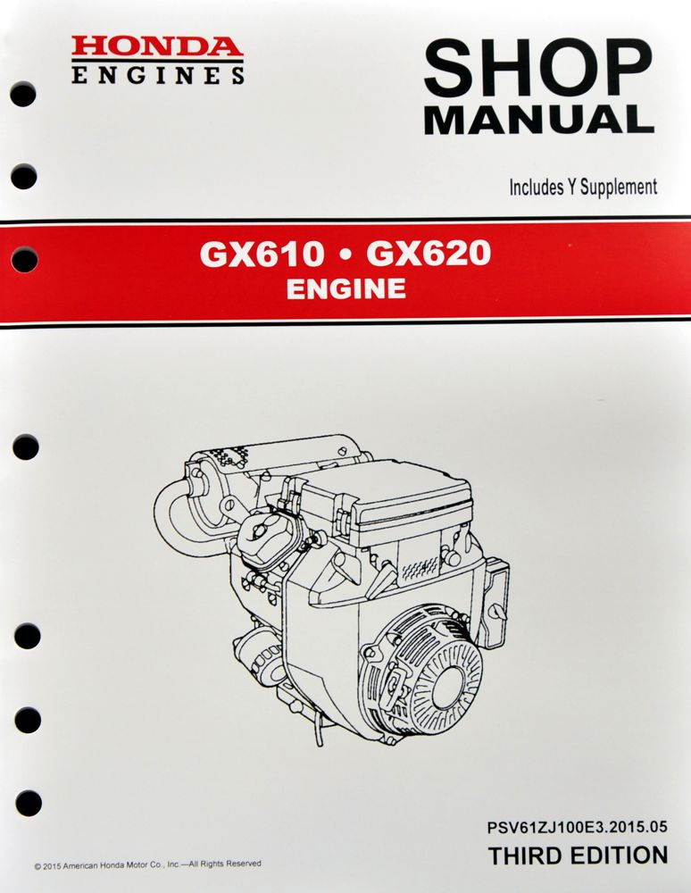 honda gx gx  engine service repair shop manual ebay