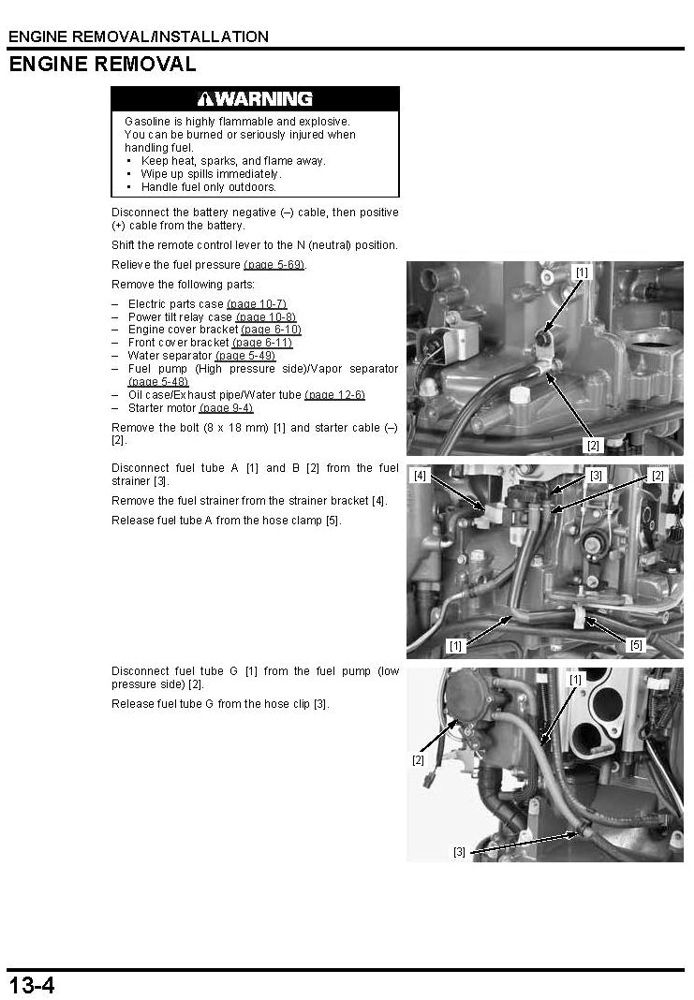 honda outboard motor repair manual